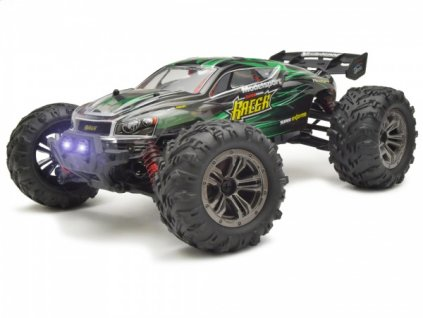 Rc auto Truggy Racer 4WD 1:16 2.4GHz RTR - zelený
