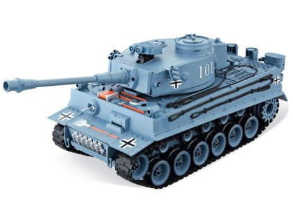 Rc tank GERMAN TIGER BB 1:16, LED, zvukový modul, 100% RTR