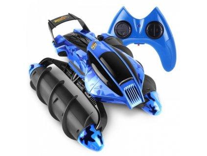 RC Obojživelník Amphibious Stunt Car - modrý maskáč