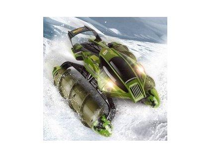 RC Obojživelník Amphibious Stunt Car - zelený maskáč