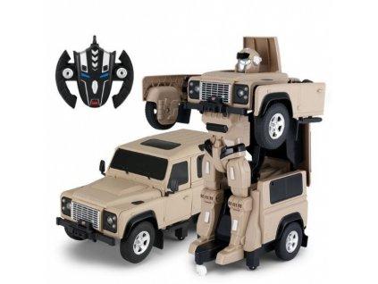 Land Rover Transformer 1:14 - žltý