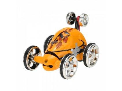 Bláznivé autíčko na diaľkové ovládanie - oranžové
