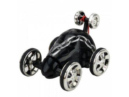 Bláznivé autíčko na diaľkové ovládanie - čierna