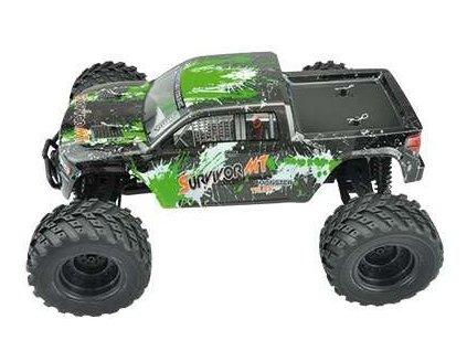 Rc auto EVO 4M 4WD Monster truck 1:12 AMX Racing - zelený