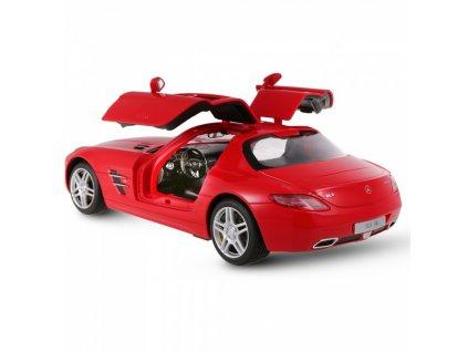 Licencované Rc auto Mercedes-Benz SLS AMG, červené 1:14