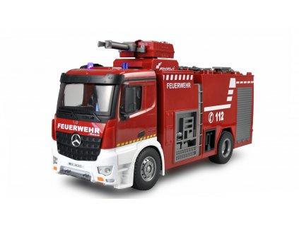 Rc hasiči Mercedes-Benz Arocs licencovaný, 1:14, s funkčnou striekačkou