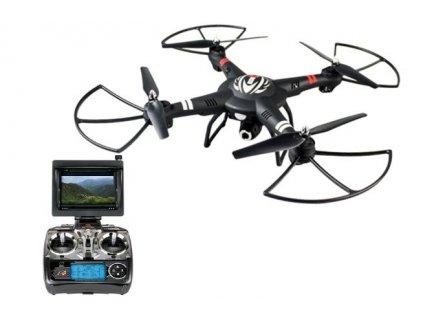 Dron SPACE SHIP Q303 FPV 5.8GHz, 720p kamera a LCD displej