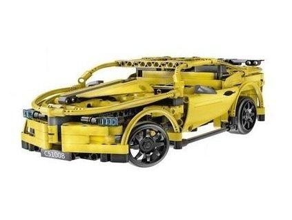 Stavebnica Športové vozidlo na diaľkové ovládanie