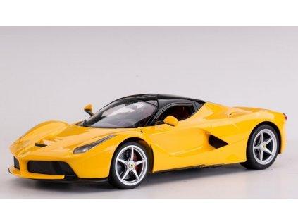 Licencované rc auto FERRARI LaFerrari, žlté, 1:14