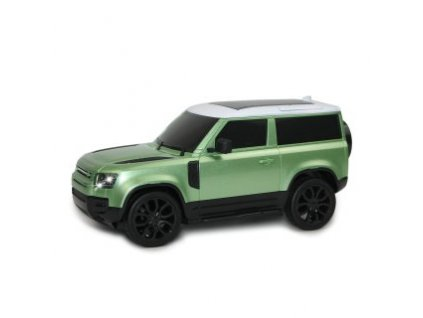 Rc auto Land Rover Defender 90, 1:24, 2,4 GHz, LED, 100% RTR, svetlo zelená metalíza