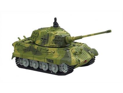 Rc mini tank King Tiger 1/72, nový, nereaguje