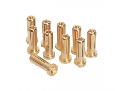 LRP 5mm/G5 Gold Works Team/zlaté konektory (10ks.)