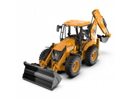 Diaľkovo ovládaný JCB Traktor bager 1:20 RTR 2,4Ghz