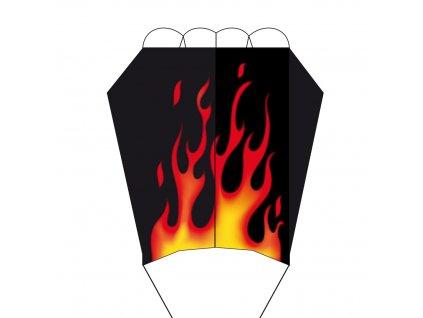 Šarkan Parafoil Easy Flame 56x35 cm