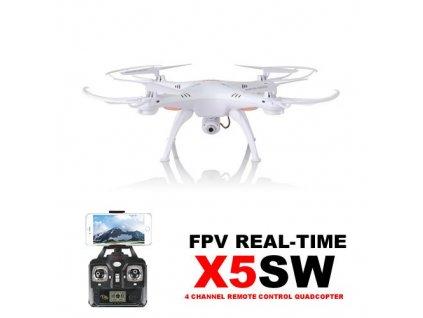 Dron Syma X5SW PRO, 50 minút letu, biely