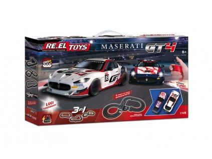 Autodráha Re.el toys Maserati DT4, 3v1