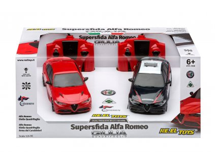 Set Rc áut Superfida ALFA ROMEO Carabinieri Sc.1:24 - RC 2.4GHz