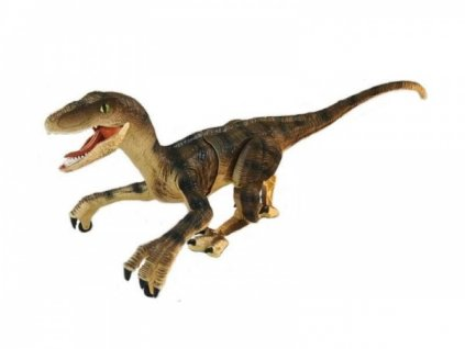 RC dinosaurus VELOCIRAPTOR II. - hnedý