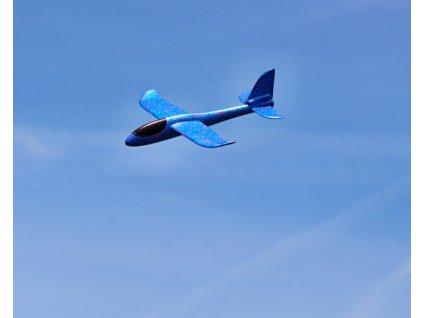Pružné hádzadlo FLIP 48cm - modré