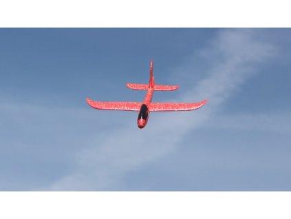 Pružné hádzadlo FLIP 48cm - červené