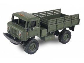 Vojenský nákladný automobil GAZ-66 4x4 1/16 - zelený