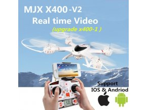 man url mjx x400 v2 2 4g rc quadcopter drone rc helicopter 6 axis can add c4002 c4005 (1)