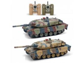 Veľké súbojové tanky Leopard 2A6 - 2ks v balení