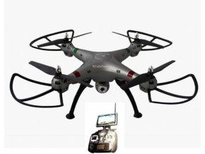 RC dron K800FPV s online prenosom na obrazovku vyselača