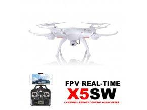 Syma X5Csw PRO - 50 minut letu - WiFi kamera s online prenosem