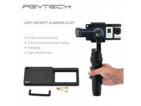 ZHIYUN Smooth-Q 3-osí gimbal + adaptér pre akčnú kameru zdarma  + adaptér pre akčnú kameru zdarma