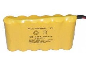 NiCd 400mAh 7,2V battery pack