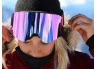 Neon lyžařské a SNB brýle