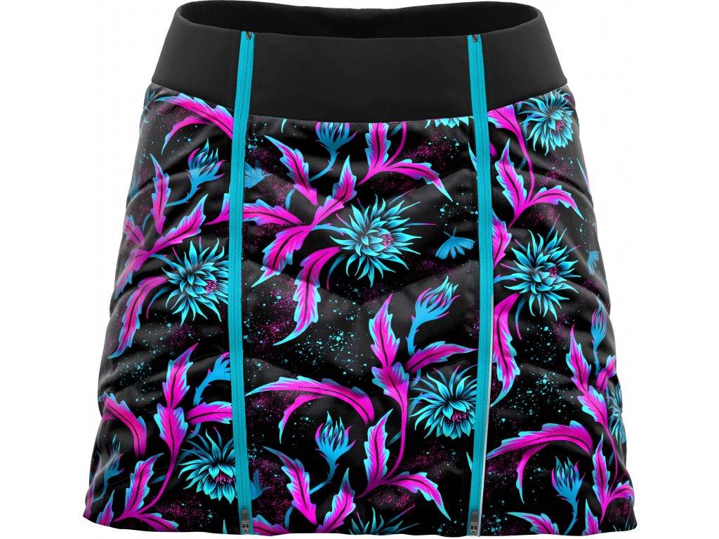 W19045006D 00 Skirt Feel Woman X056 Night Flower Back