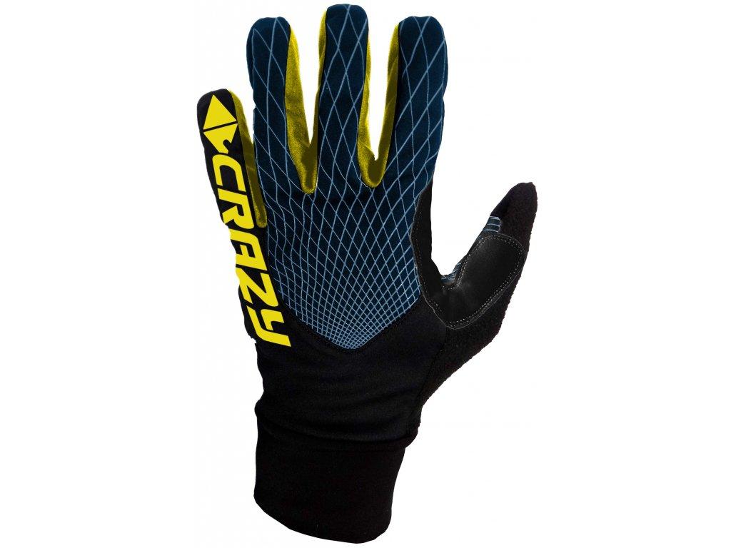 W19285001X 00 Gloves Sci Alp Race 01 Bl Black Bluette