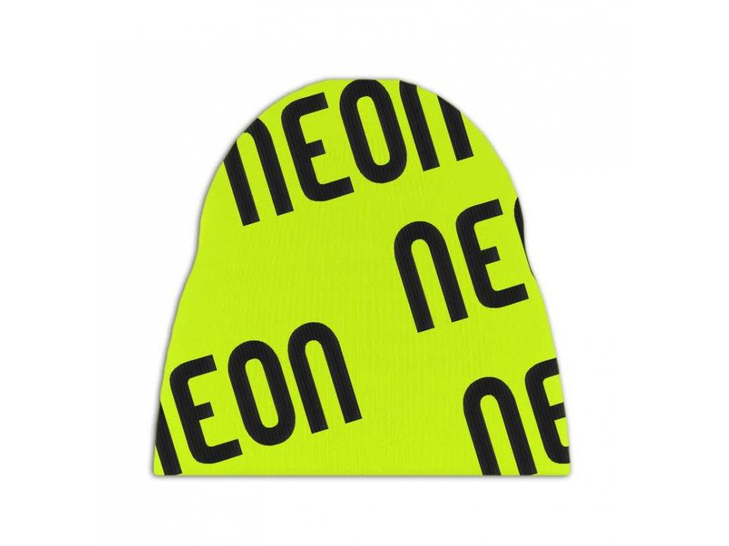 Logo beanie giallo