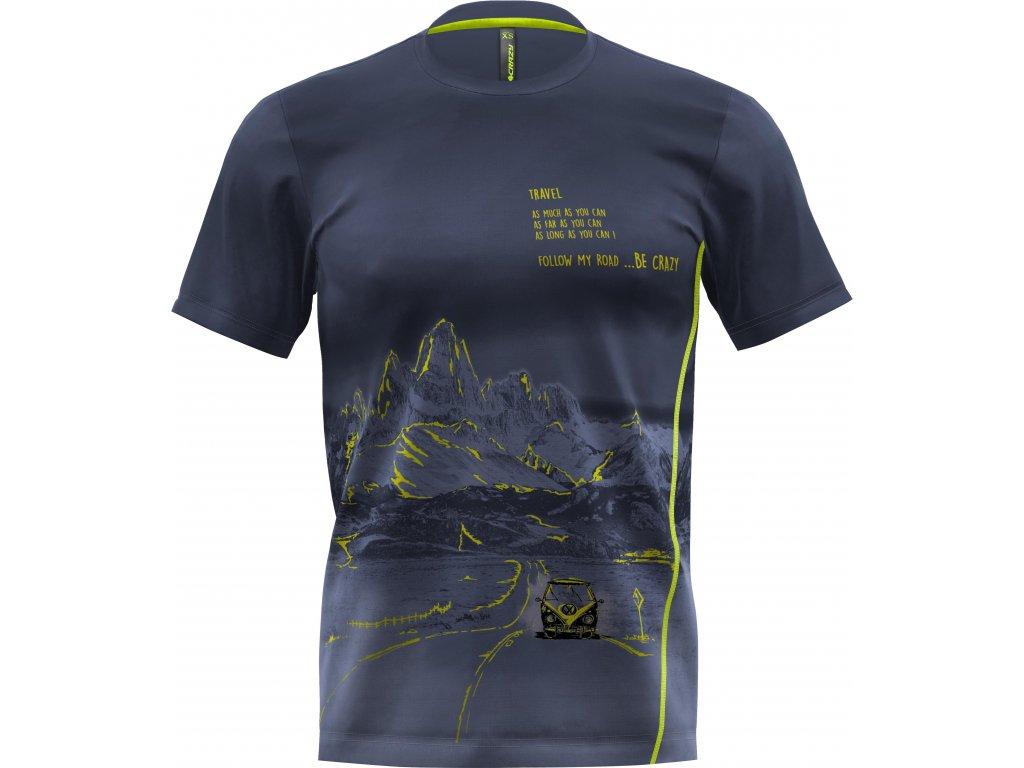 S20096018U 00 T Shirt Legend Man X081 Patagonia Print