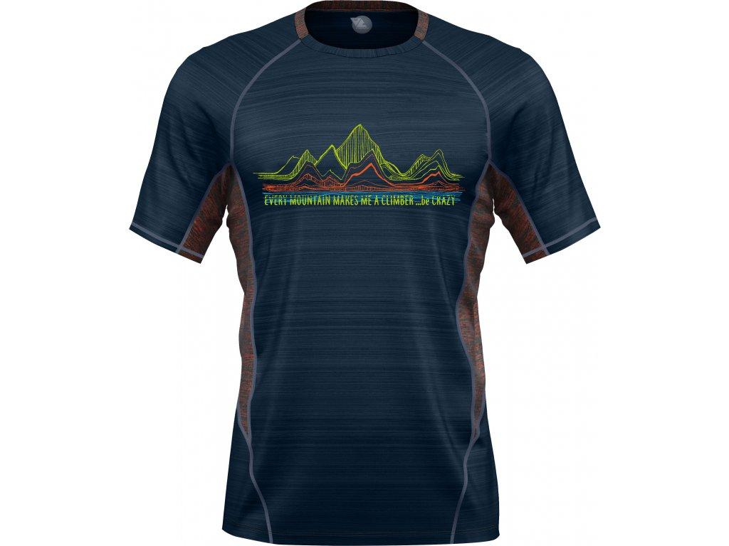 S20095111U 00 T Shirt Pegasus Man 47 Chili