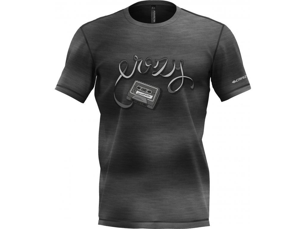 S20095034U S2 T shirt Live to Climb Man 03 Gray