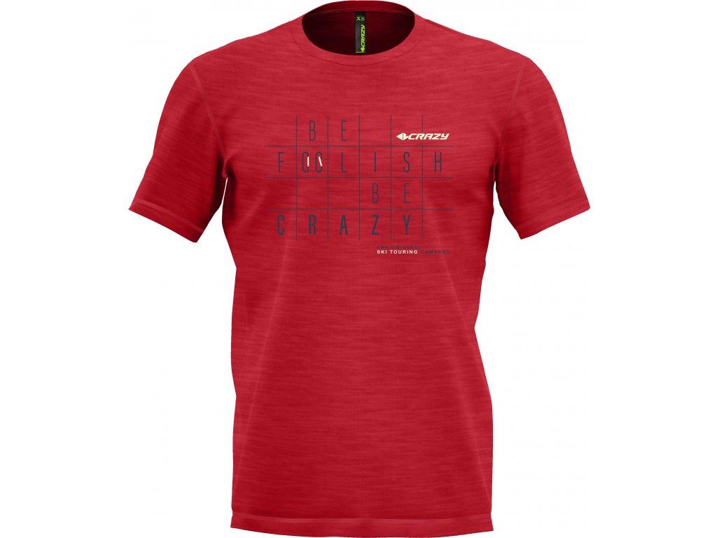 S20095034U S2 T shirt Live To Climb Man 04 Red