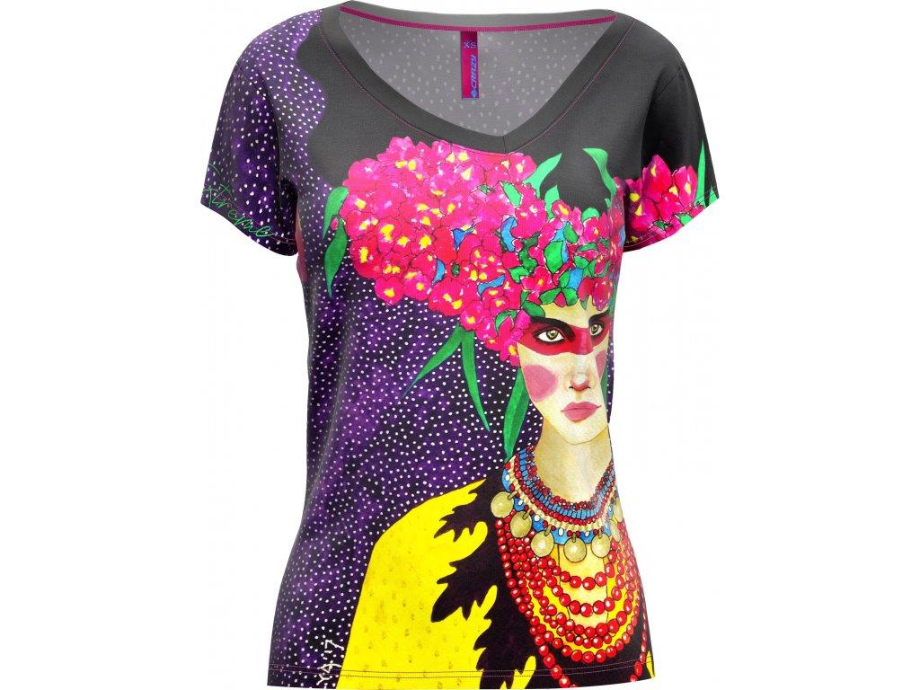 S20095027D 00 T Shirt Shade Woman X044 Hulya Violet