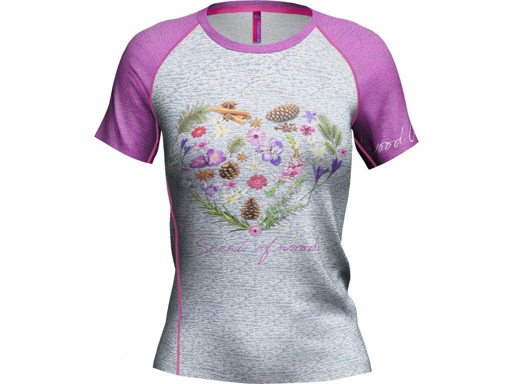 S20095043D 00 T Shirt Exit Woman X054 Scent Of Wood