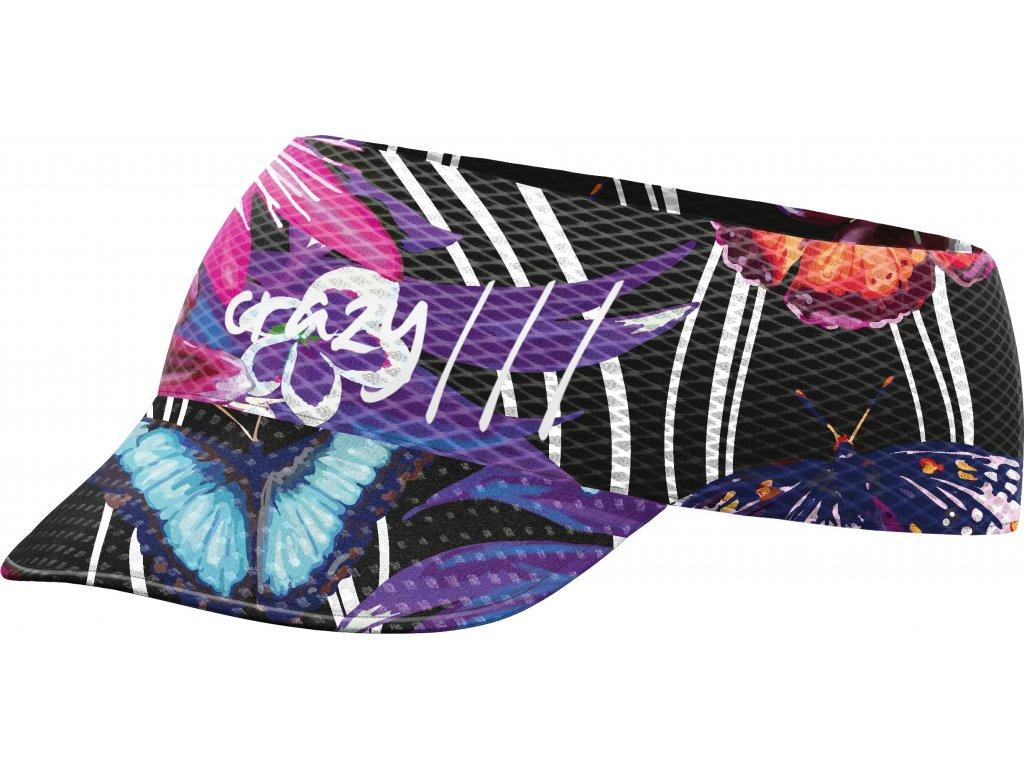 S20125042X 00 Pacman Visor X074 Butterfly Black
