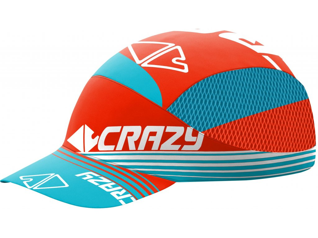 S20125041X 00 Pacman Cap Run 24 LG Laguna Orange Fluo