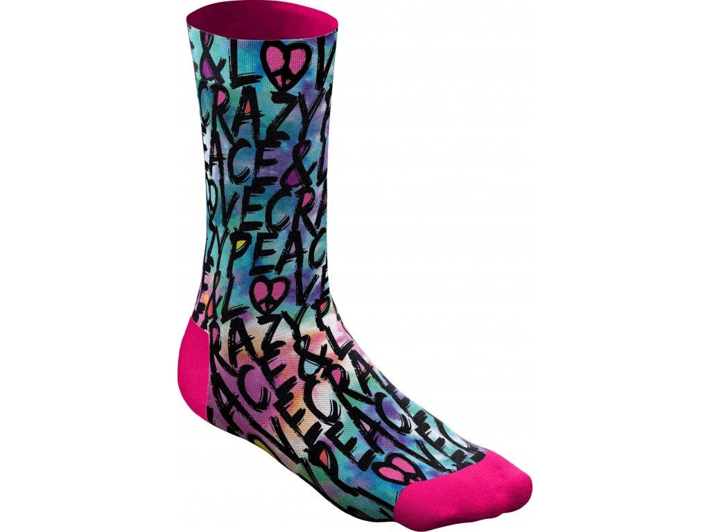 S20385005X Crazy Socks X029 P L Black