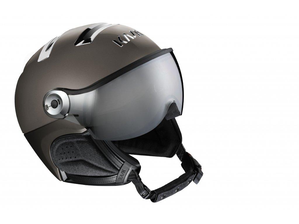 PIUMA R chrome platinum visor