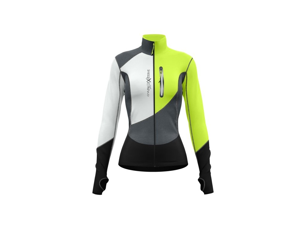W20055142D 00 46 PULL CERVINO WOMAN YELLOW FLUO