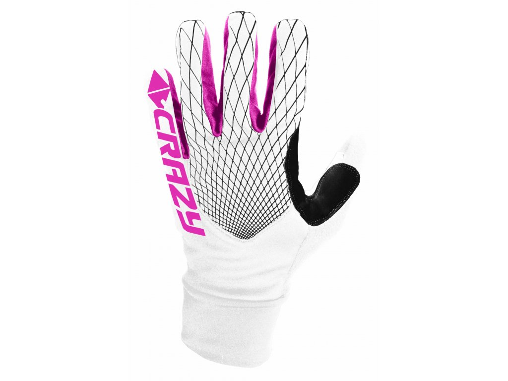 W20285001X 00 02 GLOVES SCI ALP RACE WHITE