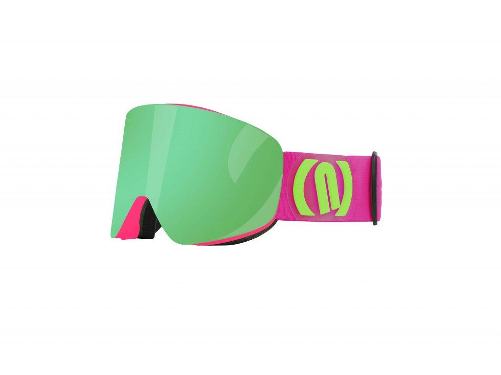 magneto pink green