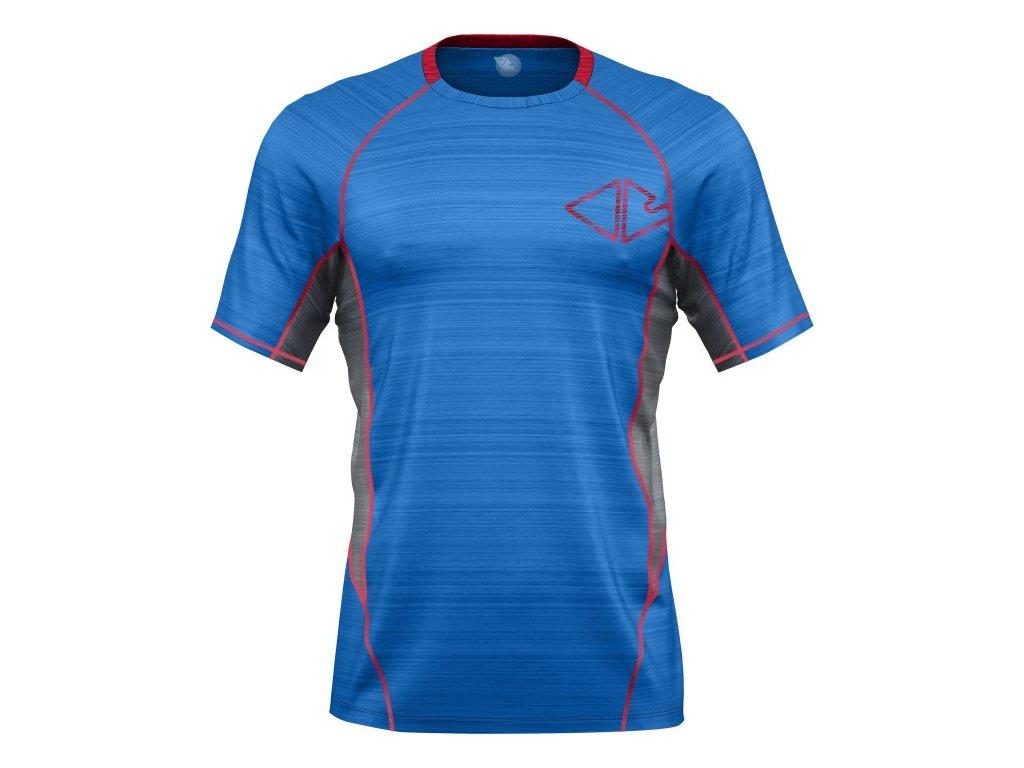 Crazy triko T-shirt Teslin MN triko V5 Bluette (Velikost oblečení XL)