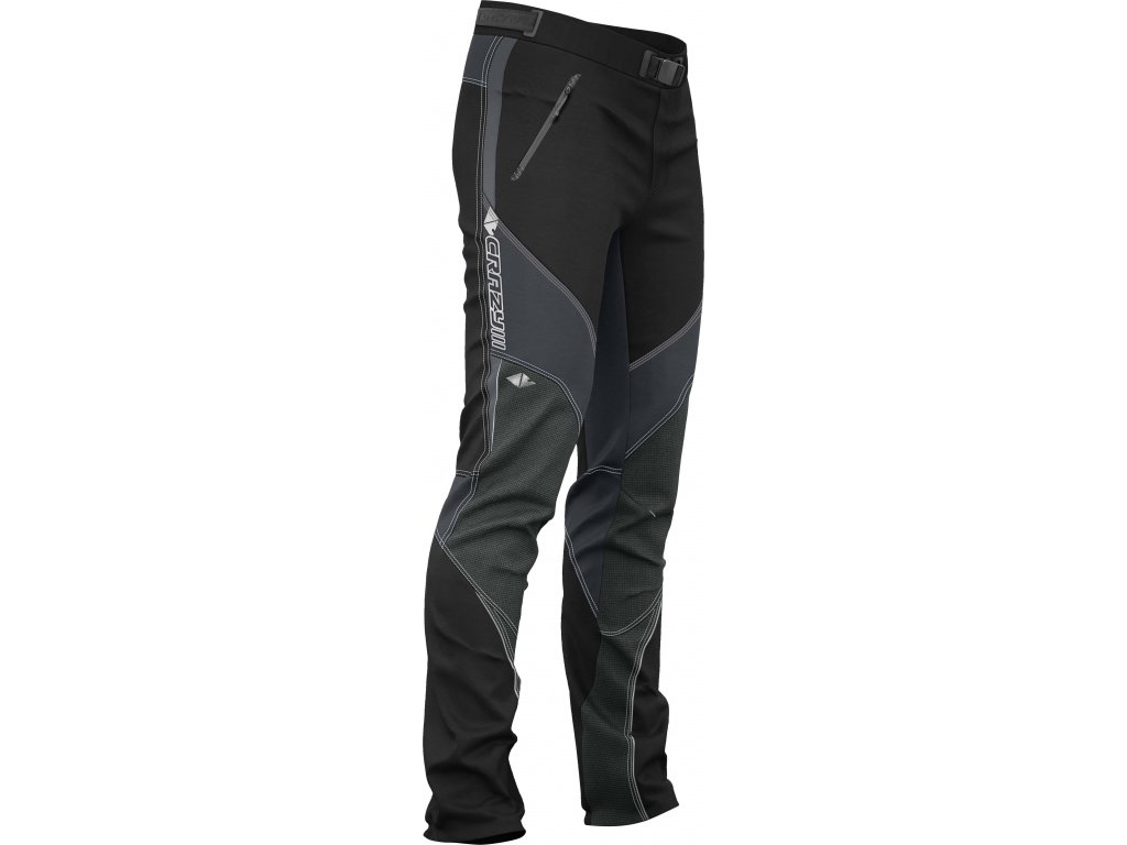 W18015165U 00 Pant Nomix Man 01 Black